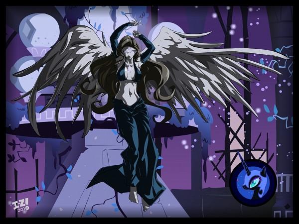 Tags: Anime, Irving-zero, My Little Pony, Nightmare Moon, Princess Luna, deviantART, Fanart From DeviantART, Wallpaper, Fanart