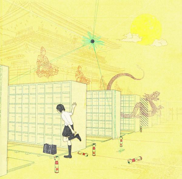 Tags: Anime, Nihohe, Locker Room, Meditation, Locker, Original