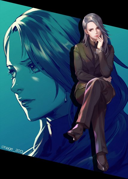 Tags: Anime, Sae (Artist), Shin Megami Tensei: PERSONA 5, Niijima Sae, Pixiv, Fanart, Fanart From Pixiv