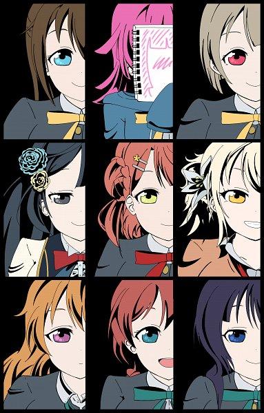 Tags: Anime, Pixiv Id 13196117, Love Live! School Idol Festival ALL STARS, Ousaka Shizuku, Miyashita Ai, Tennouji Rina, Asaka Karin, Emma Verde, Nakasu Kasumi, Yuki Setsuna, Uehara Ayumu, Konoe Kanata, Fanart From Pixiv