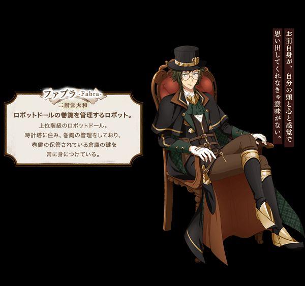 Tags: Anime, Fukagawa Kasumi, IDOLiSH7, Nikaido Yamato, Steampunk, Official Art