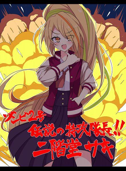 Tags: Anime, Pixiv Id 5636374, Zombieland Saga, Nikaidou Saki, Explosion