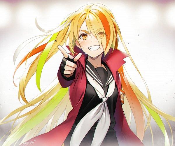 Tags: Anime, Pixiv Id 1723558, Zombieland Saga, Nikaidou Saki, Twitter, Fanart