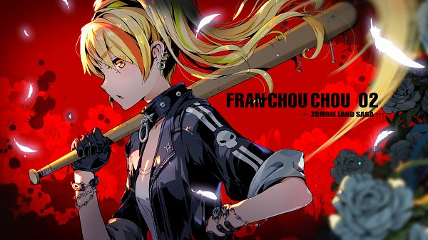Tags: Anime, pcw, Zombieland Saga, Nikaidou Saki, Pixiv, Fanart, Fanart From Pixiv