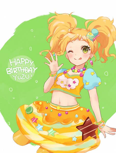 Tags: Anime, Pixiv Id 5450474, Aikatsu Stars!, Nikaidou Yuzu, Fanart From Pixiv, PNG Conversion, Pixiv, Fanart