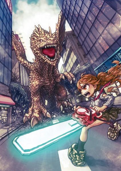 Tags: Anime, Nikerabi, Pixiv Festa, Chainsaw, Pixiv