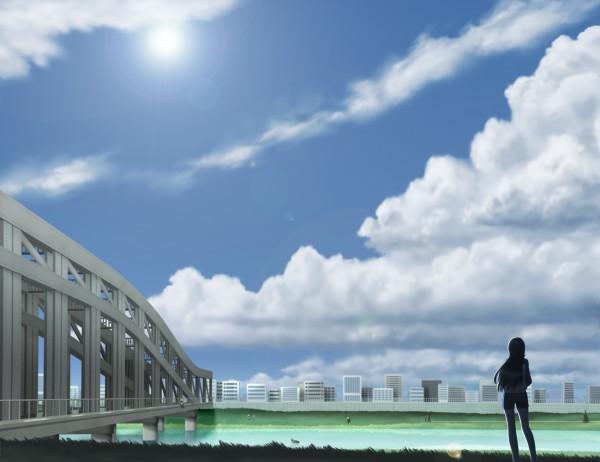 Tags: Anime, Siraha, Arakawa Under the Bridge, Nino (Arakawa), Pixiv, Fanart