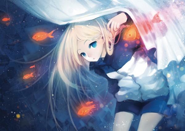 Tags: Anime, Shell (Pixiv236246), Arakawa Under the Bridge, Nino (Arakawa), Pixiv, Fanart From Pixiv, Fanart