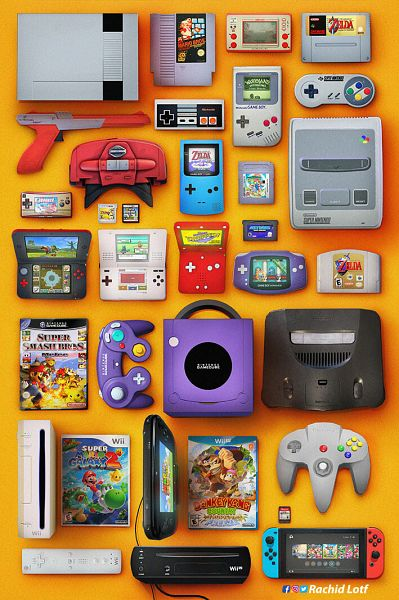 Tags: Anime, Rachid Lotf, Nintendo, Wario Land, Super Mario Galaxy, Pokémon Diamond & Pearl, Donkey Kong, Super Mario Bros., Super Smash Bros., Pokémon, Game Boy, Super Nintendo, Nintendo 64