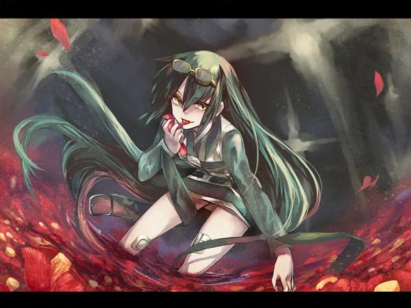 Tags: Anime, Rin (Cellurin), Zaregoto Series, Niounomiya Izumu, Fanart, Pixiv
