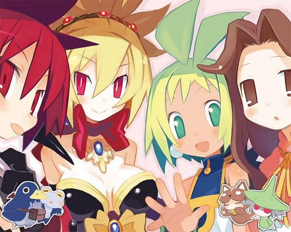Tags: Anime, Harada Takehito, Nippon Ichi Software, Phantom Kingdom, Phantom Brave, Makai Senki Disgaea, Rozalin, Marona, Tink, Prinny, Castille, Etna, Official Art