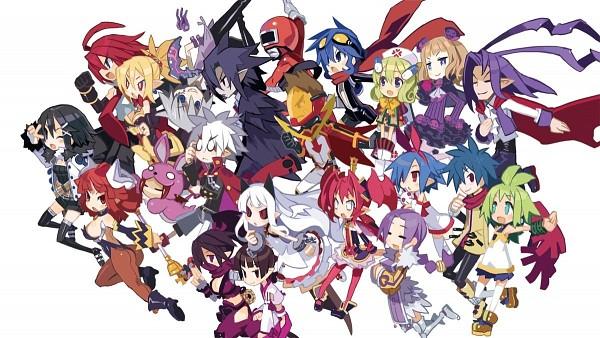 Tags: Anime, Harada Takehito, Nippon Ichi Software, Phantom Brave, Phantom Kingdom, La Pucelle: Tactics, Makai Senki Disgaea, Valvatorez, Ash (Phantom Brave), Asuka Cranekick, Gig, Prier, Mao (Disgaea)