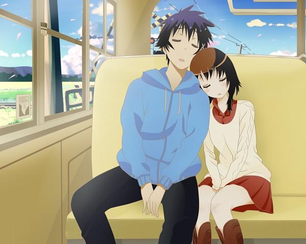 Tags: Anime, Axcell1ben, Nisekoi, Onodera Kosaki, Ichijou Raku