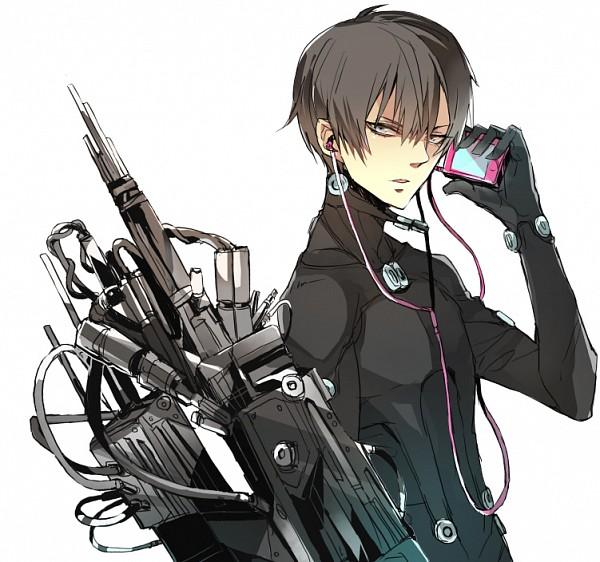 Tags: Anime, zaqloxxx, GANTZ, Nishi Joichiro, iPod, Pixiv, Fanart, Fanart From Pixiv
