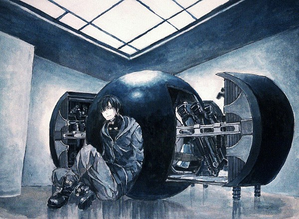 Tags: Anime, Pixiv Id 4772069, GANTZ, Nishi Joichiro, Fanart From Pixiv, Pixiv, Fanart