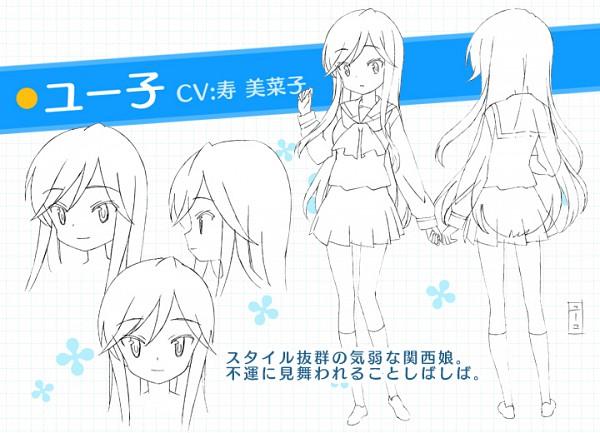 Tags: Anime, Studio Gokumi, A Channel, Nishi Yuuko, Character Sheet, Official Art