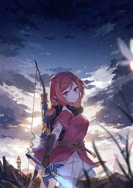 Tags: Anime, Asuka (Louyun), Love Live!, Nishikino Maki, Master Sword, Zelda no Densetsu (Parody), Maki Nishikino