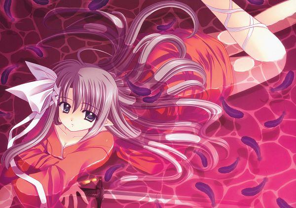 Tags: Anime, Nishimata Aoi, Vivid, Feather Lookign At Camera, Original, Scan