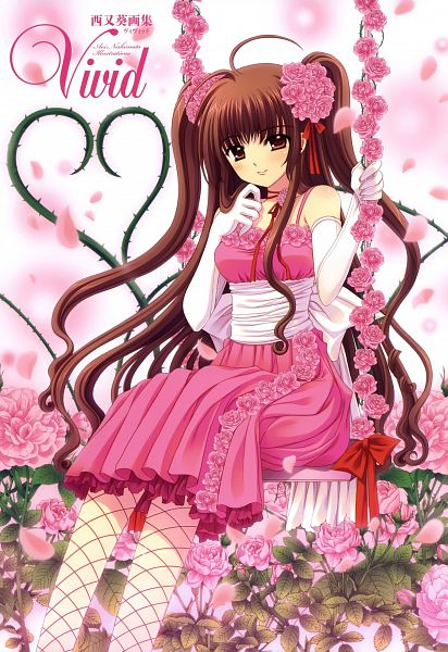 Tags: Anime, Nishimata Aoi, Vivid, Swing, Original, Scan, Mobile Wallpaper, Pixiv