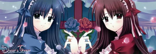Tags: Anime, Nishimata Aoi, Dual Screen, HD Wallpaper, Pixiv, Wallpaper, Twitter Header
