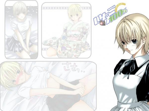 Tags: Anime, Kawashita Mizuki, Ichigo 100%, Nishino Tsukasa