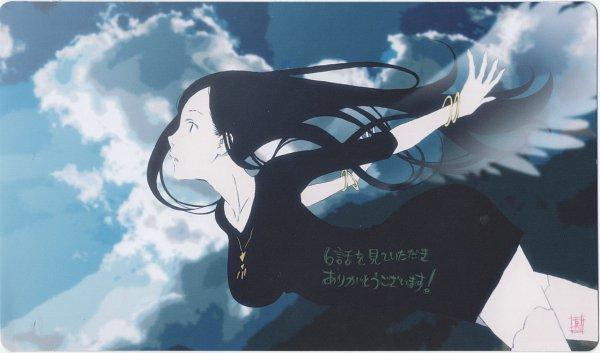 Tags: Anime, Occultic;Nine, Nishizono Ririka, Official Art, Scan