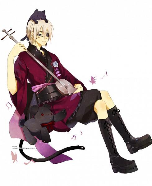 Tags: Anime, Nisoniso, Shamisen, TinierMe, deviantART, Pixiv, Original