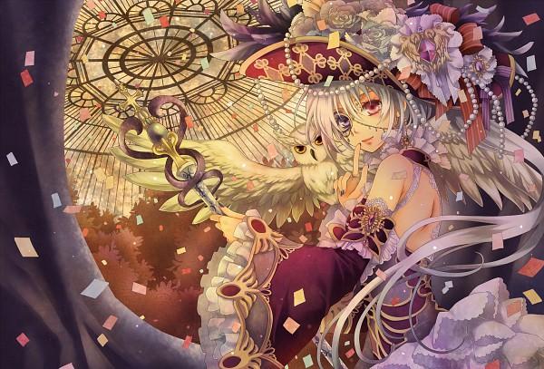 Tags: Anime, Nitou Akane, Dome, Hat Feather, Pixiv, Original