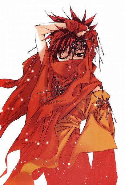 Tags: Anime, Sugisaki Yukiru, D.N.Angel, Niwa Daisuke, Scan, Mobile Wallpaper, Official Art