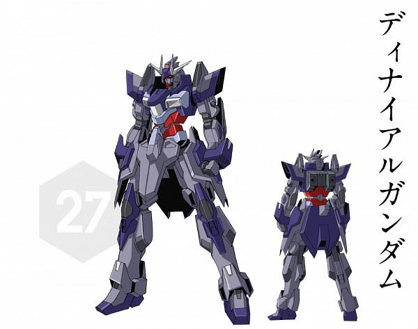 Tags: Anime, Gundam Build Fighters Try, Nk-13j Denial Gundam, Official Art