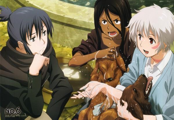 Tags: Anime, Ishino Satoshi, BONES (Studio), No.6, Inukashi, Shion (No.6), Nezumi (No.6), Official Art