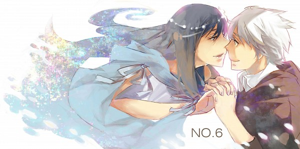 Tags: Anime, *Missingcat318, No.6, Shion (No.6), Nezumi (No.6), Eve (Nezumi), Facebook Cover, Pixiv, NezuShi