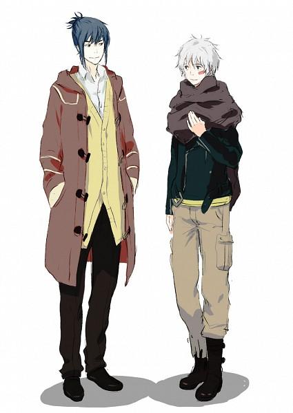 Tags: Anime, NadzomiViro, No.6, Nezumi (No.6), Shion (No.6), Fanart, Mobile Wallpaper, Pixiv