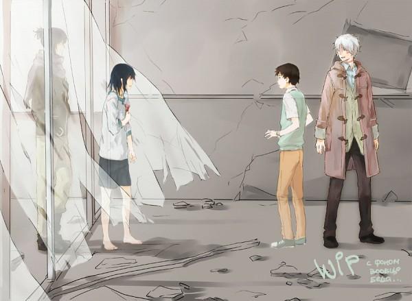 Tags: Anime, NadzomiViro, No.6, Shion (No.6), Nezumi (No.6)