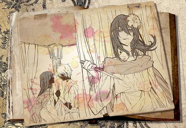 Tags: Anime, Pixiv Id 990860, No.6, Shion (No.6), Nezumi (No.6), Eve (Nezumi), Fanart, Pixiv