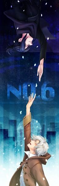 Tags: Anime, Pixiv Id 3210020, No.6, Shion (No.6), Nezumi (No.6), Fanart, Pixiv