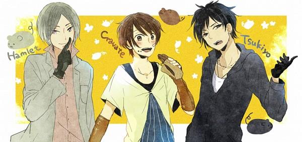 Tags: Anime, Moss (kokeoff), No.6, Tsukiyo (No.6), Cravat (No.6), Hamlet (No.6), Pixiv, Facebook Cover