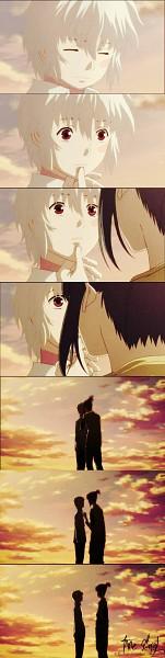 Tags: Anime, No.6, Nezumi (No.6), Shion (No.6), Comic, Screenshot, NezuShi