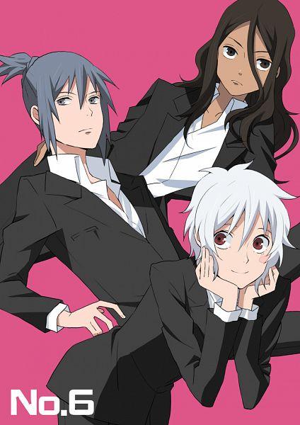 Tags: Anime, Pixiv Id 2772175, No.6, Inukashi, Shion (No.6), Nezumi (No.6), Pixiv, Fanart, Mobile Wallpaper