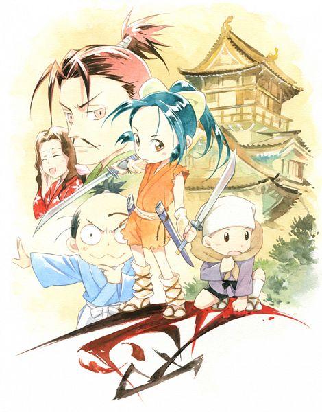Nobunaga No Shinobi (Ninja Girl & Samurai Master)