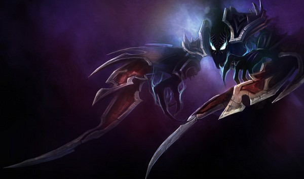 Tags: Anime, League of Legends, Nocturne, No Legs, Nightmare, Official Art