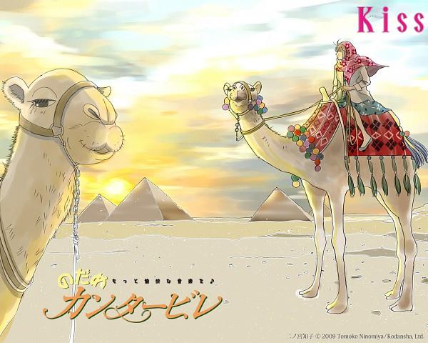 Tags: Anime, Nodame Cantabile, Noda Megumi, Camel, Desert, Pyramid