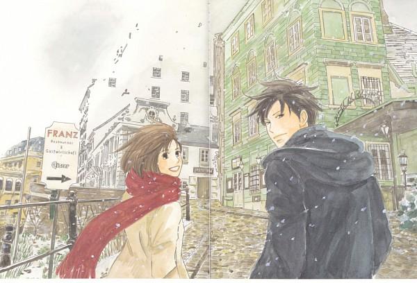 Tags: Anime, Nodame Cantabile, Noda Megumi, Chiaki Shinichi, Official Art