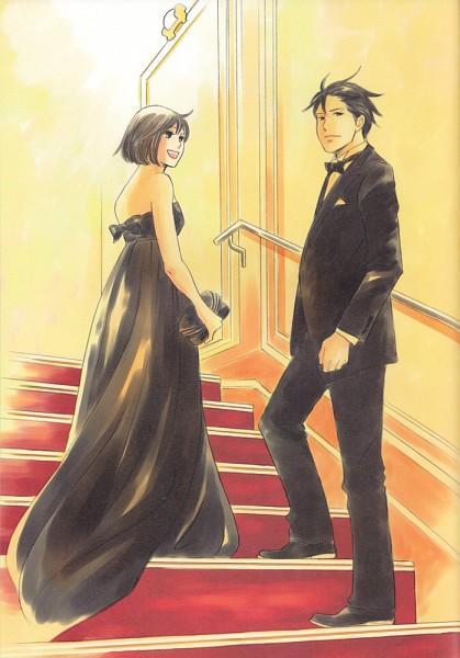 Tags: Anime, Nodame Cantabile, Chiaki Shinichi, Noda Megumi, Mobile Wallpaper