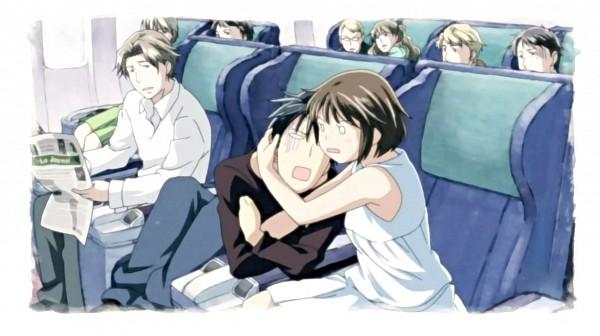 Tags: Anime, Nodame Cantabile, Noda Megumi, Chiaki Shinichi, Clinging, Facebook Cover