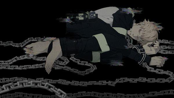 Tags: Anime, Honya Lala, Nitro+CHiRAL, DRAMAtical Murder, Noiz (DMMd), Shackles, Wallpaper, CG Art, HD Wallpaper, Facebook Cover