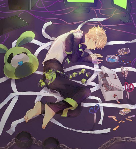 Tags: Anime, Pixiv Id 1284076, DRAMAtical Murder, Noiz (DMMd), Fanart From Pixiv, Pixiv, Fanart