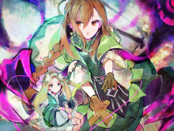 Tags: Anime, Amarcord, Sdorica -sunset-, Nolva, Pixiv, Fanart, Fanart From Pixiv