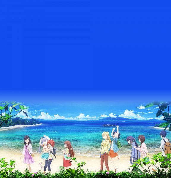 Tags: Anime, Ootsuka Mai, Silver Link, Non Non Biyori, Non Non Biyori: Vacation, Miyauchi Kazuho, Koshigaya Komari, Kagayama Kaede, Koshigaya Natsumi, Koshigaya Suguru, Ichijou Hotaru, Fujimiya Konomi, Miyauchi Hikage