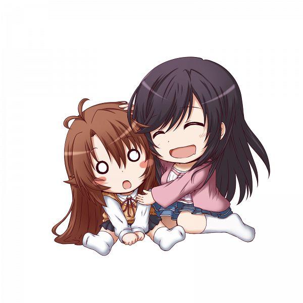 Tags: Anime, Kuena, Non Non Biyori, Koshigaya Komari, Ichijou Hotaru